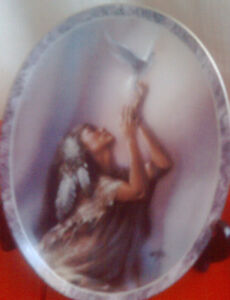 Collector Plate:   Messengers of the Spirit series