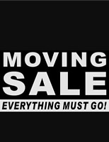 Moving sale!! Everything must go!!