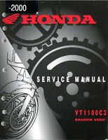 Honda VT1100C3 Shadow Aero Service Manual.