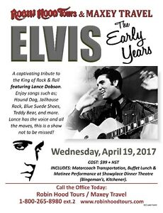 Elvis - The Early Years Stratford Kitchener Area image 1