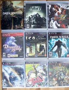 PS3 Games + Console ps3 slim
