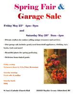 Spring Fair & Garage Sale