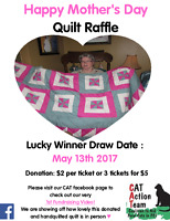 CAT Mother's Day Quilt Raffle
