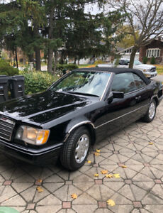 1994 Mercedes Benz E320 convertible