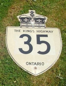 The Kings Highway road sign