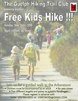 Next free KIDS HIKE is on May 15...come hiking with us!