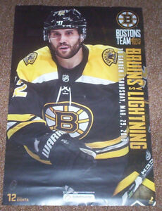 BOSTON BRUINS GAME DAY POSTER BRIAN GIONTA PHOTO