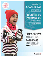 CANADA 150 SKATING DAY at the Fort William Gardens