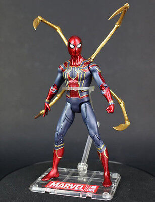 """Marvel Infinity War Avengers Iron Spider Spiderman w/ Tentacles 6"""" Action Figure"""