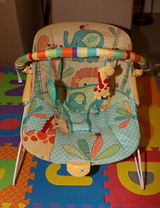 Baby chair - bounces and vibrates