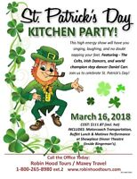 St. Patrick's Day Kitchen Party