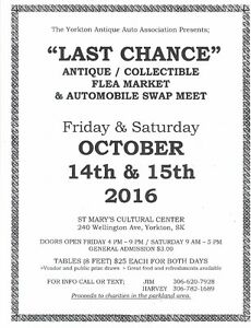 LAST CHANCE SWAP MEET