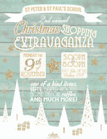 St Peter & St Paul's 2nd Annual Christmas Shopping Extravaganza!