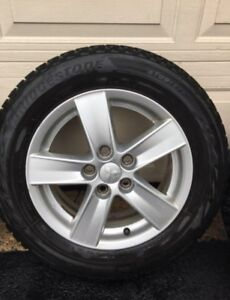 Mags- Excellent condition with tires (16 inch)