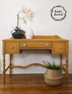 Restyled Desk/Vanity Table