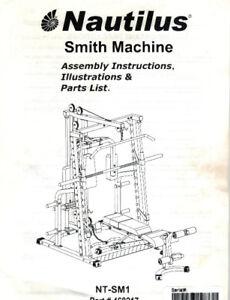Nautilus Smith Machine + Olympic dumbbells