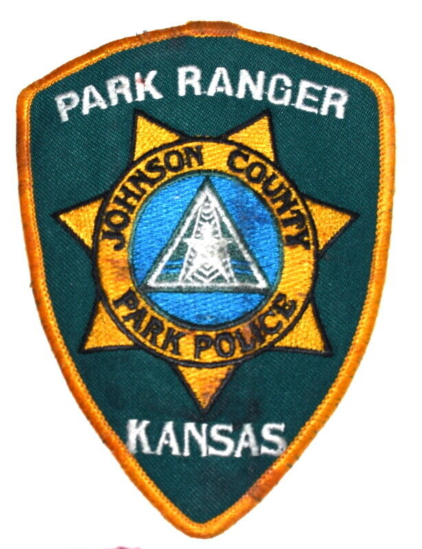 JOHNSON COUNTY – PARK RANGER - KANSAS KS Sheriff Police Patch SYMBOL USED ~