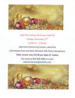 Lake Echo Craft Fair - Nov. 17th