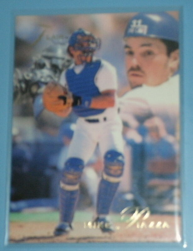 MIKE PIAZZA 1993 FLEER FLAIR #75  $$$ PERFECT CARD IN VINYL