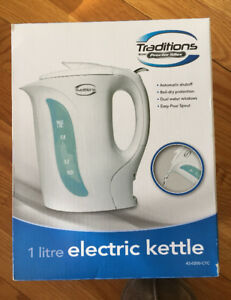 Traditions  by Proctor Silex 1 Litre Electric Kettle