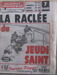 Old Newspapers - Anciens journaux 1980, 1984 et 1985