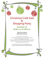 Christmas Craft Sale & Shopping Party