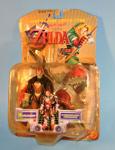 Legend Of Zelda Ocarina Time GANANDORF Slashing Action Figure