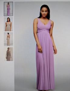 selling Bridesmaid long dress F15933 from david's bridal