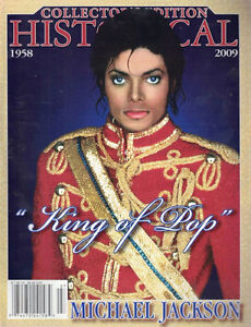 Michael Jackson Historical Collector's Edition Magazine