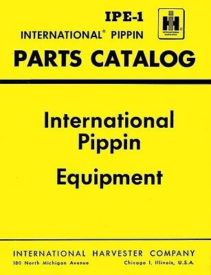 International Moline 335 445 Olive 55 Oliver 550 Pippin Loader Parts Manual