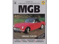 MGB - Guide to Purchase and DIY Restoration : Lindsay Porter