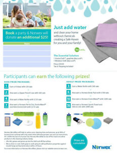 Fundraise for your charity with Norwex