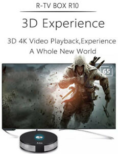 The R10 Android 8.1 4k TV Box->ULTIMATE Media Center for your TV