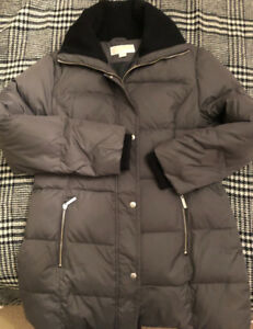 Micheal Kors grey woman's winter coat size M used like new