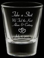 Printed Wedding Shot Glasses