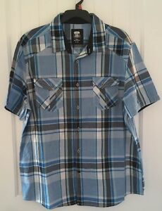 *NEW*  Route 66 - Button Up Men's T-Shirt  ( Size XL )