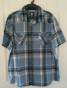 Route 66 - Button Up Men's T-Shirt ( Size XL ) *Still Available*