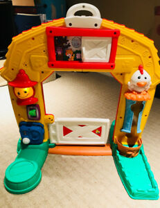 Fisher Price Play & Learn Farm House - $18
