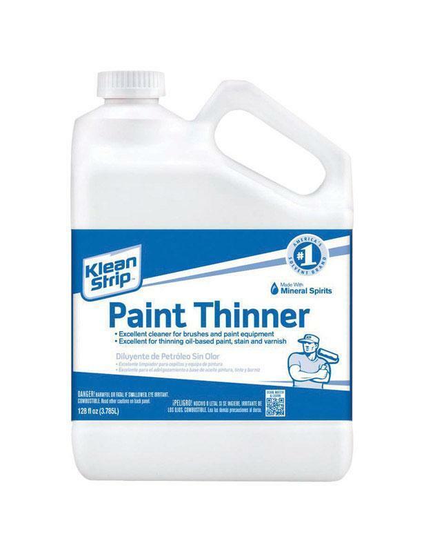 Klean Strip Paint Thinner Gallon Size
