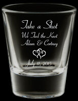 (Wedding) Printed Shot Glasses