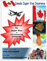 Super Visa Insurance -Best Rates