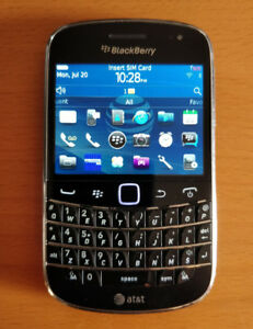 Blackberry Bold 9900 phones, Unlocked or Bell