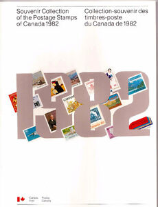 Collection Canada 1982 (timbres/stamps)