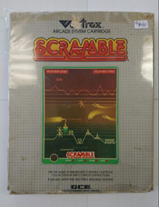 Vectrex Scramble with Color Overlay