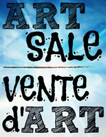 ART SALE on the waterfront!!!!! - ART in your FACE 2018