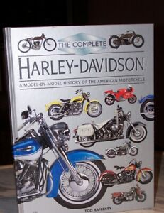 "FOR SALE ""THE COMPLETE HARLEY-DAVIDSON HISTORY"""
