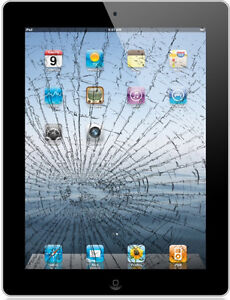iPad 2,3, and 4 screen repair Only $109