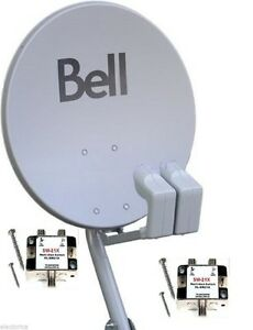 Bell Express View Satellite Dish