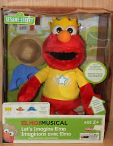 Let's Imagine Elmo Doll - New in the Package