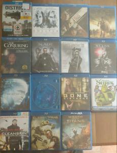 Blu-ray a vendre originaux